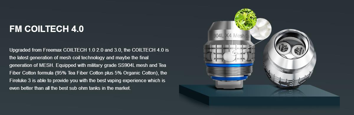 Freemax Fireluke 3 Sub Ohm Tank | Vapelink