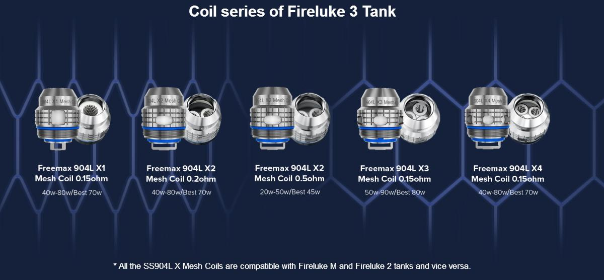 Freemax Fireluke 3 Sub Ohm Tank in Australia | Vapelink