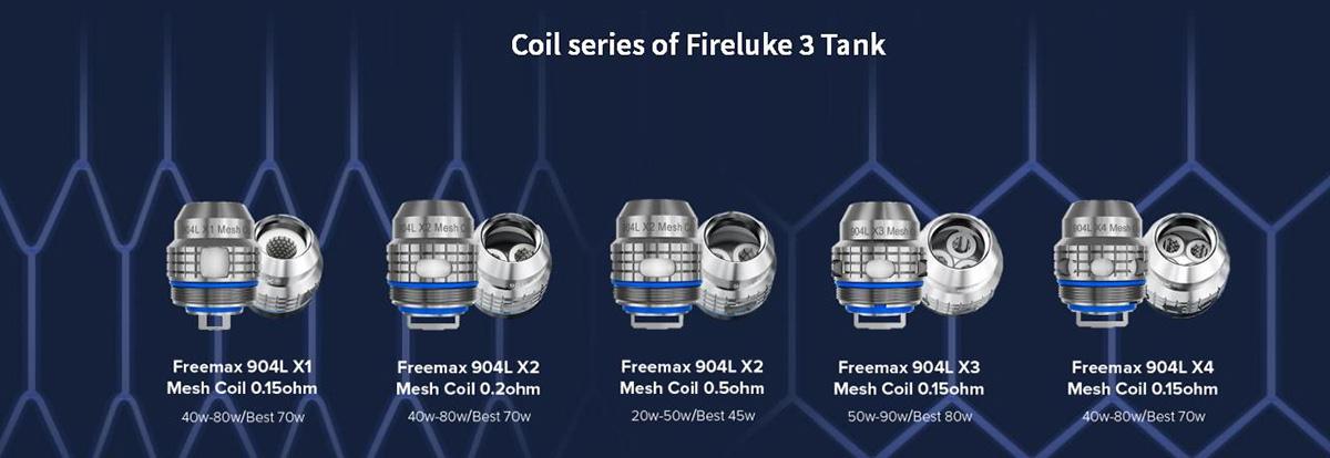Freemax 904L X Mesh Coil