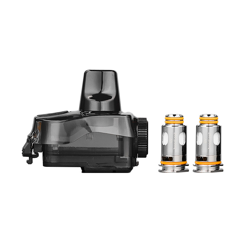 Geekvape Aegis Boost Plus, Boost Pro Pod Cartridge with 2 Coil 5.5ml