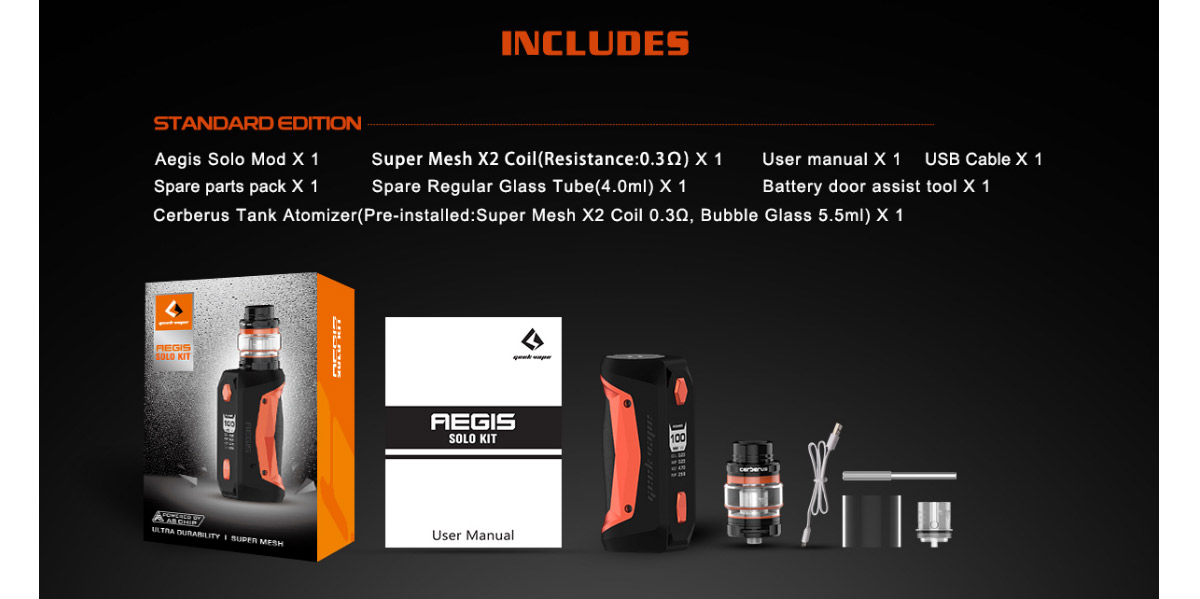 Geekvape Aegis Solo Kit