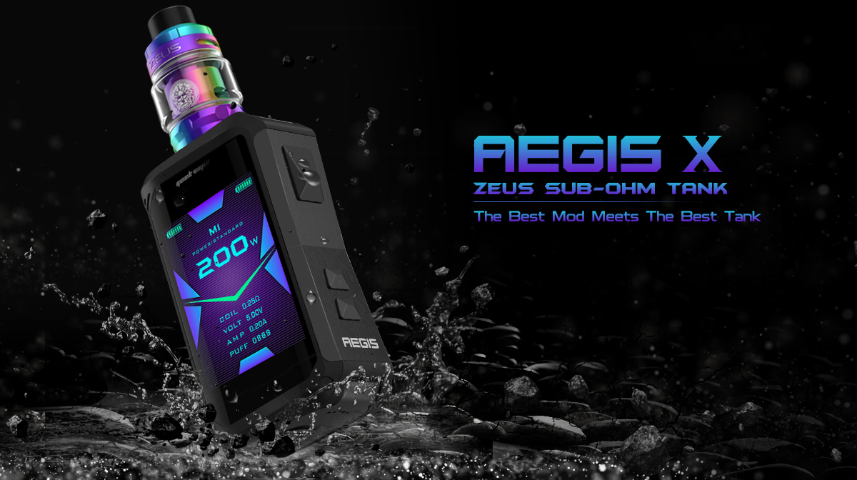 Geekvape Aegis X with Zeus