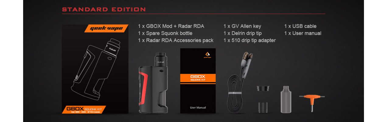 Geekvape Gbox Squonk Kit