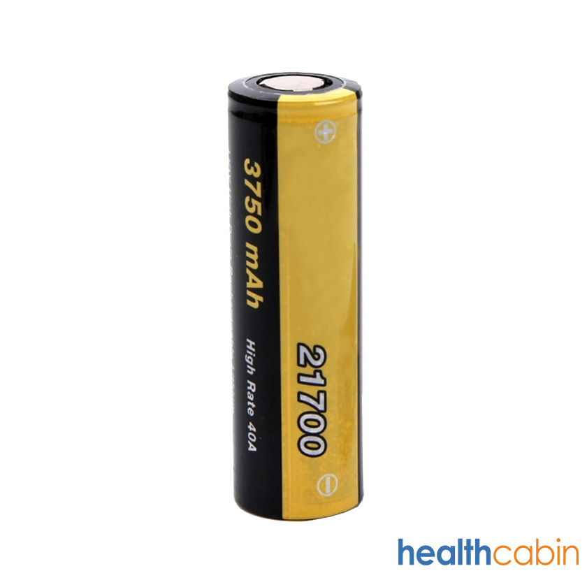 Geekvape INR 21700 3750mAh 40A Flat Top Li ion Rechargeable Battery
