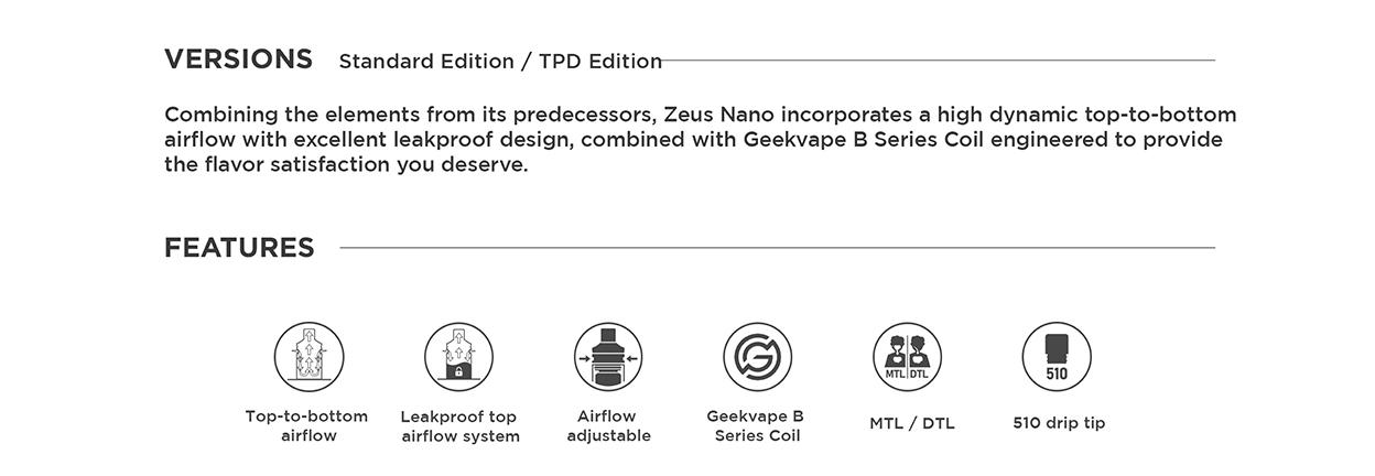 Geekvape Zeus Nano Tank