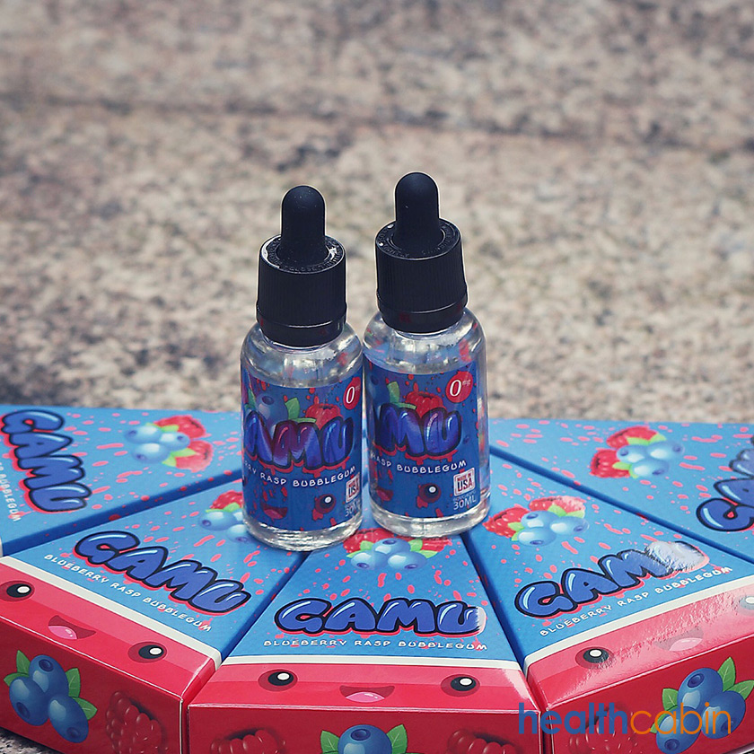 30ml GAMU Blueberry Rasp Bubblegum E-Liquid MADE IN THE USA Original Packaging (40PG/60VG)