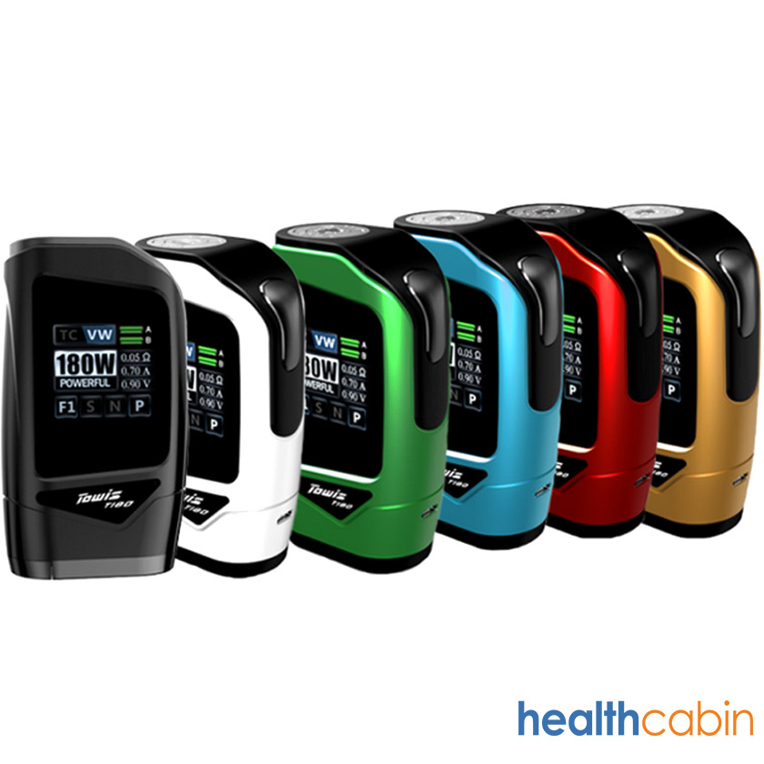 Hcigar Towis T180 Box Mod with Touch Screen