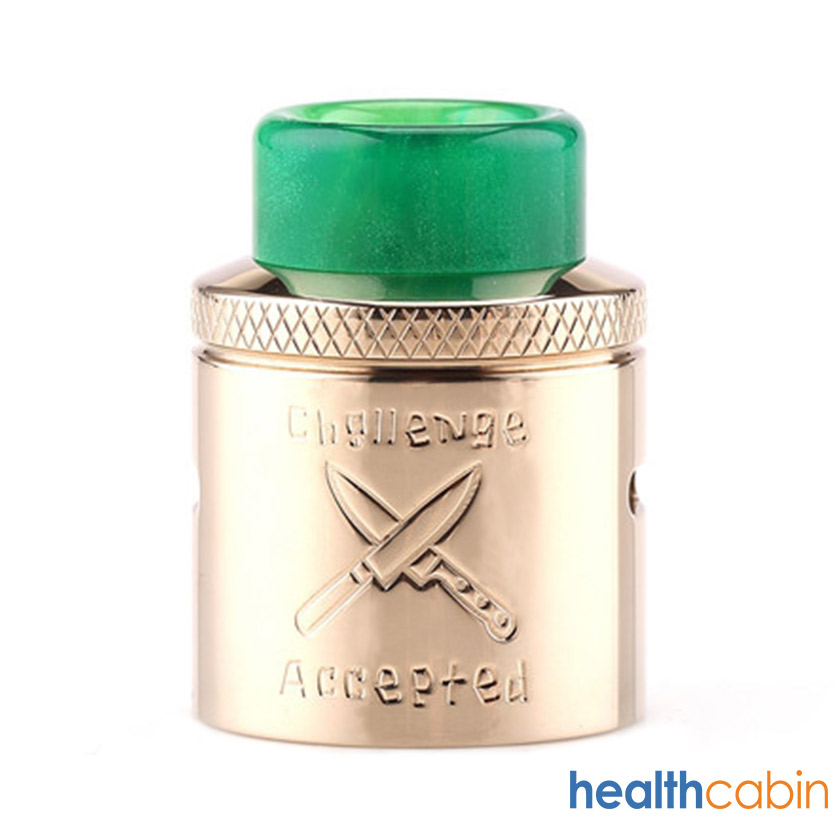 Butcher Challenge Cap for Hellvape Dead Rabbit RDA Atomizer