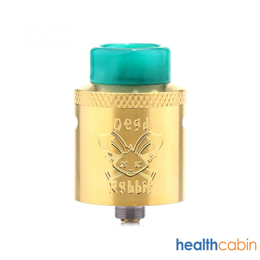 Hellvape Dead Rabbit RDA Atomizer Gold