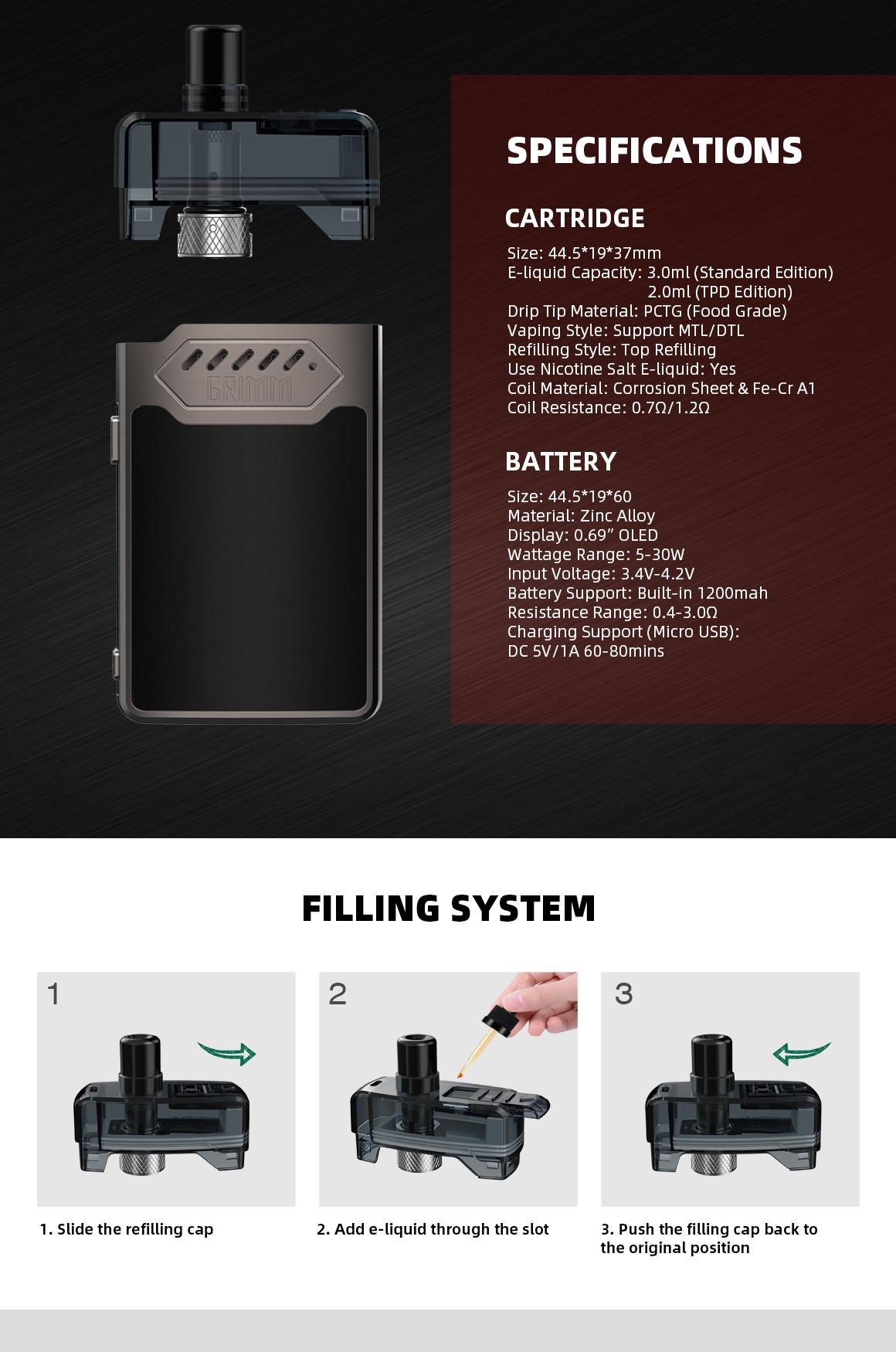 Hellvape GRIMM Kit