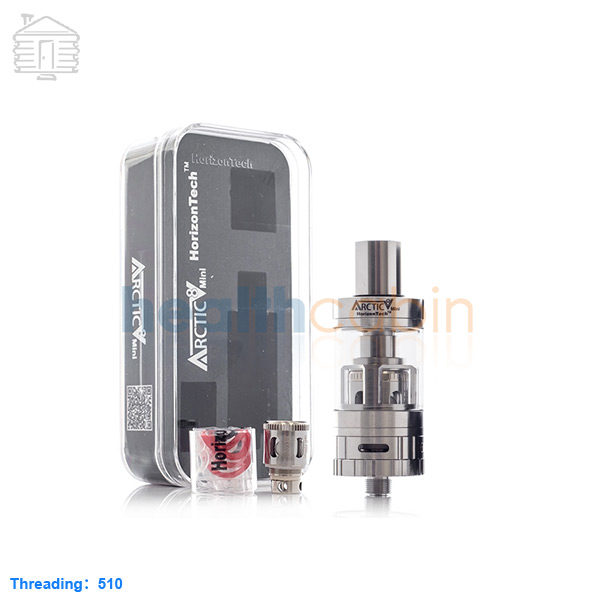 Horizon Arctic V8 Mini Stainless Tank Atomizer 3ml