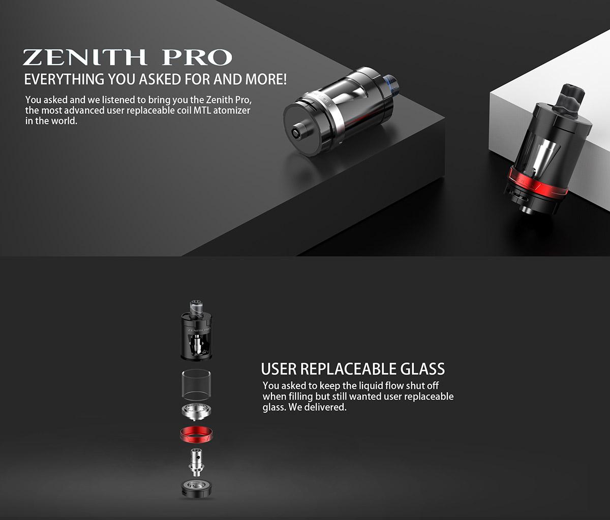 INNOKIN Zenith Pro Tank Atomizer