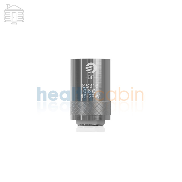 5pc Joyetech SS316 Coil Head (0.6ohm) for Cubis & Cuboid Mini Atomizer & eGrip II & Aio & Aio D16 & Aio D22 & Cubis Pro & eGo Aio Box & Evic Aio & eGo AIO PRO & AIO PRO XL & AIO PRO C