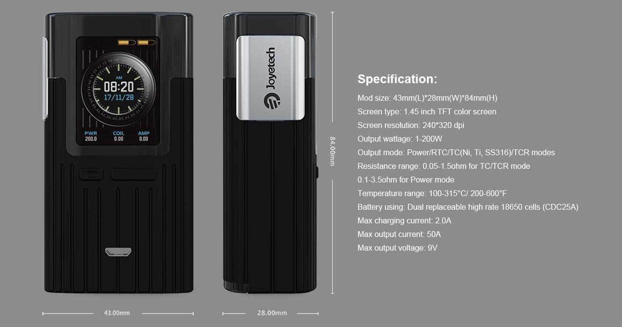 Joyetech Espion 200W Mod Kit