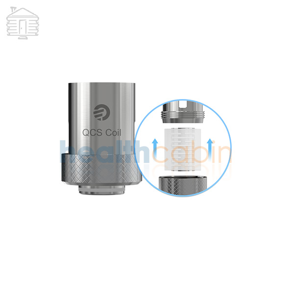 5pc Joyetech QCS Clapton Coil Head (0.25ohm) for Elitar Pipe & Ego Twist Kit & Ego Mega Twist & Cubis Pro & Cubis Pro Mini