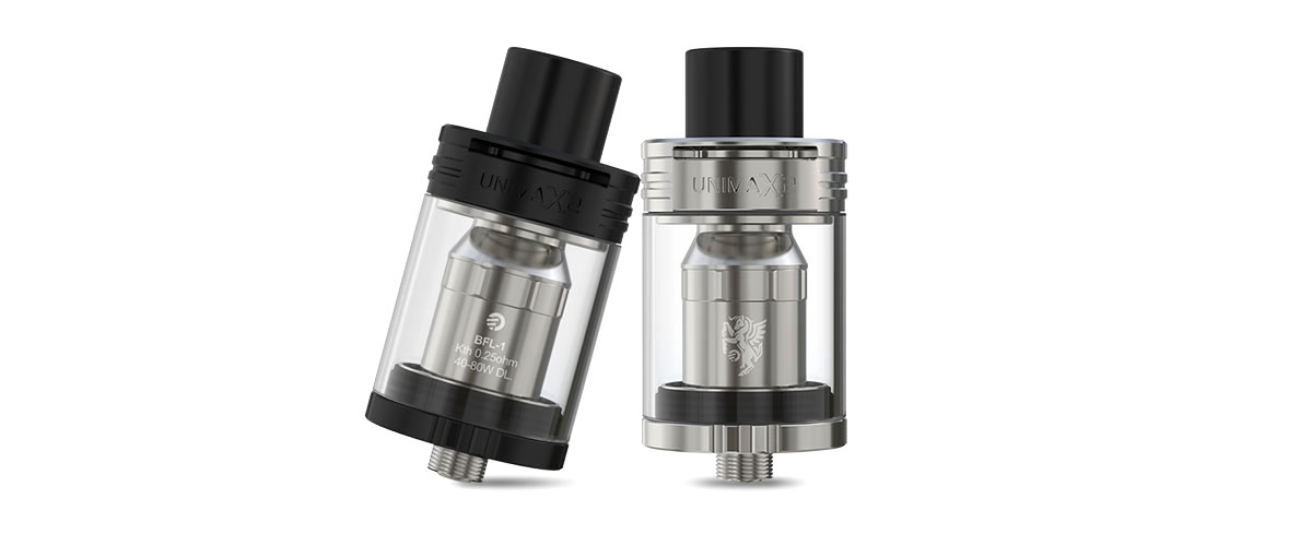 unimax. meanwhile, the stainless steel and total detachable structure make unimax 2 atomizer a sensational masterpiece. unimax