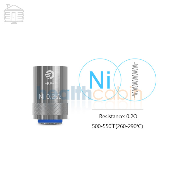 5pc Joyetech Ni Coil Head (0.2ohm) for Cubis & Cuboid Mini Atomizer & eGrip II & Cubis Pro & Evic Aio