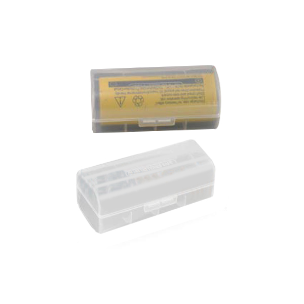 Clear Battery Case for 26650 Li-ion Battery