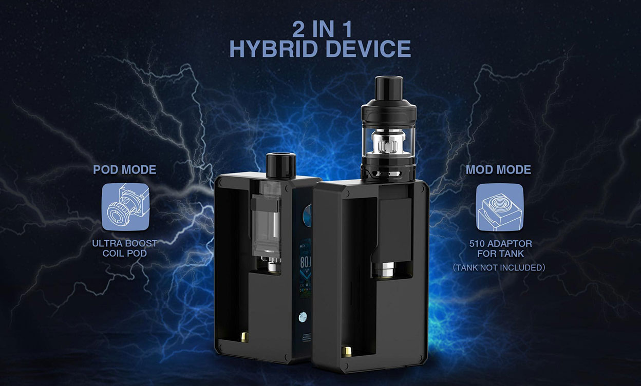 Lost Vape Gemini Hybrid Kit