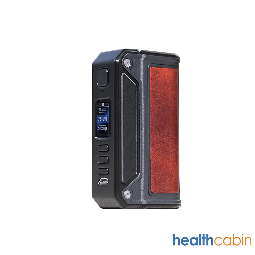 Lost Vape Therion DNA75C Mod Black Frame & Standard Verison
