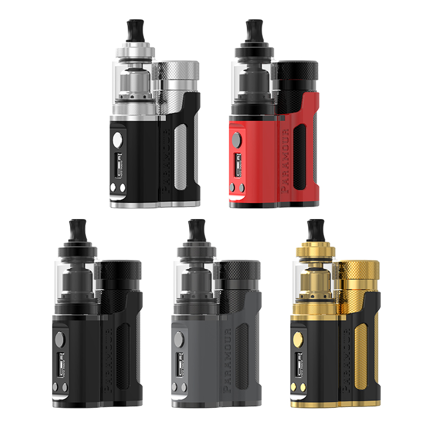 Mechlyfe Paramour SBS 80W Starter Kit with XRP RTA Tank