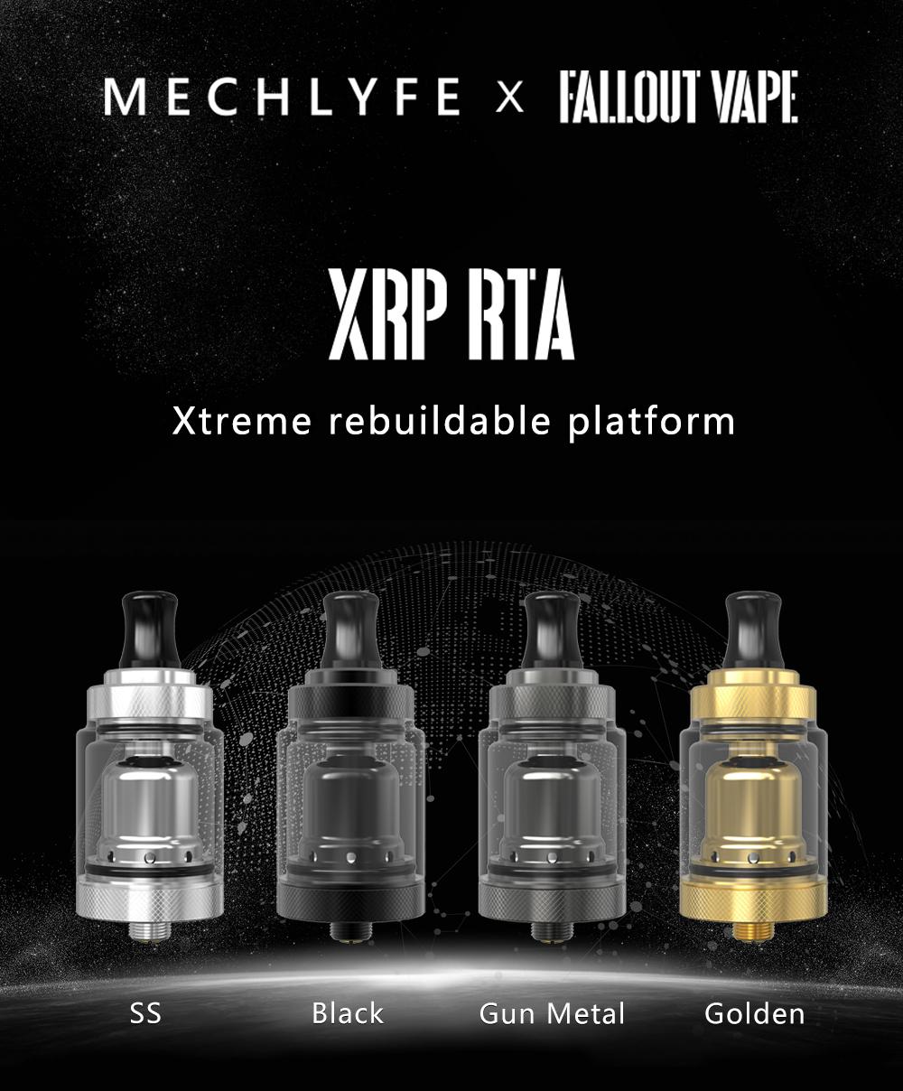 Mechlyfe X Fallout Vape XRP RTA