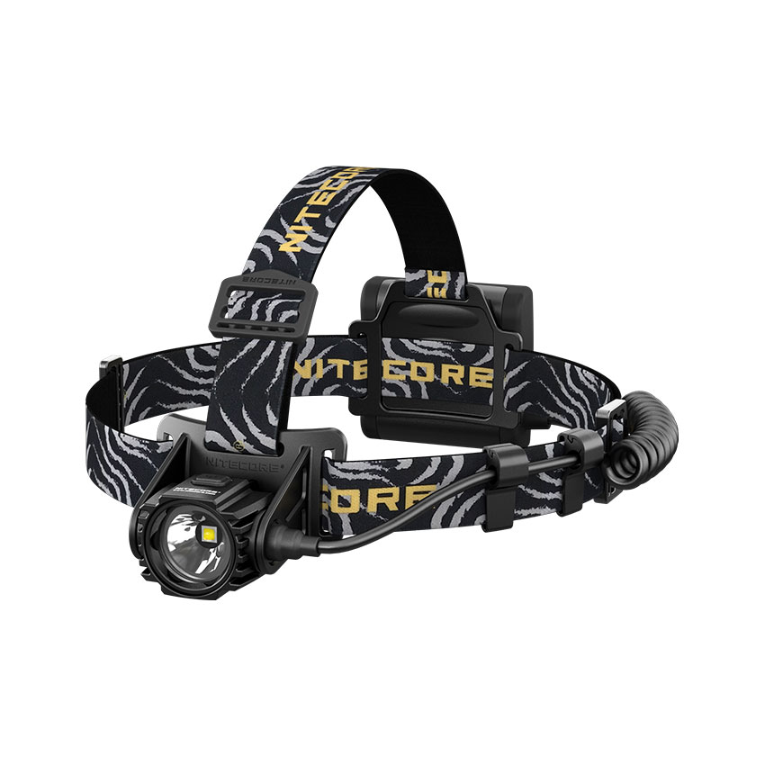 Nitecore HA40 1000 Lumens Headlamp with a Separate Battery Case