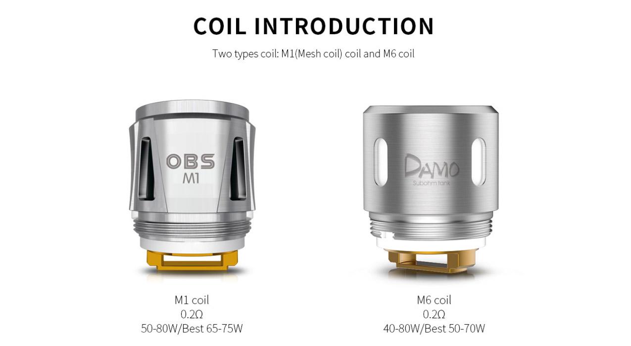 OBS M1 Mesh Coil