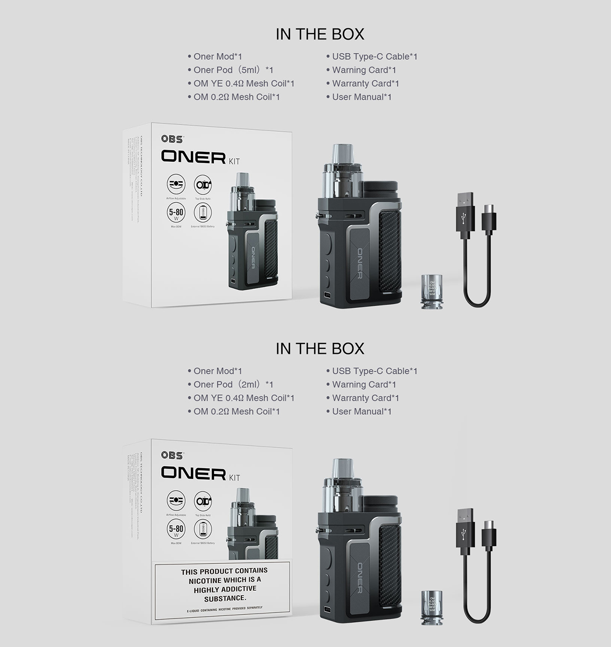 OBS Oner Kit