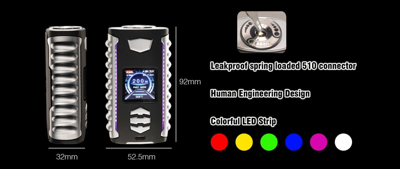 Ovanty Vega 200W Mod