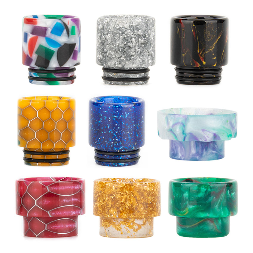 Reewape Resin 810 Drip Tip (10pcs/pack)