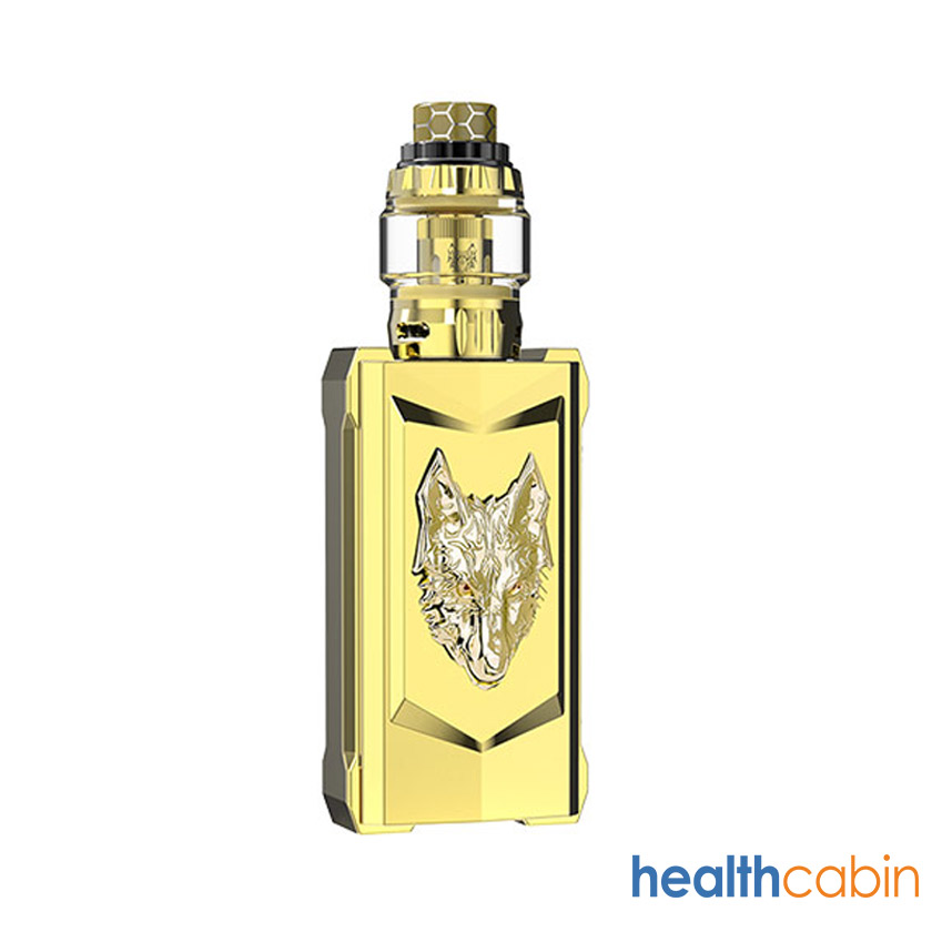 Sigelei Snowwolf Mfeng 200W Mod Kit with Wolf Tank Atomizer 6ml Full Gold