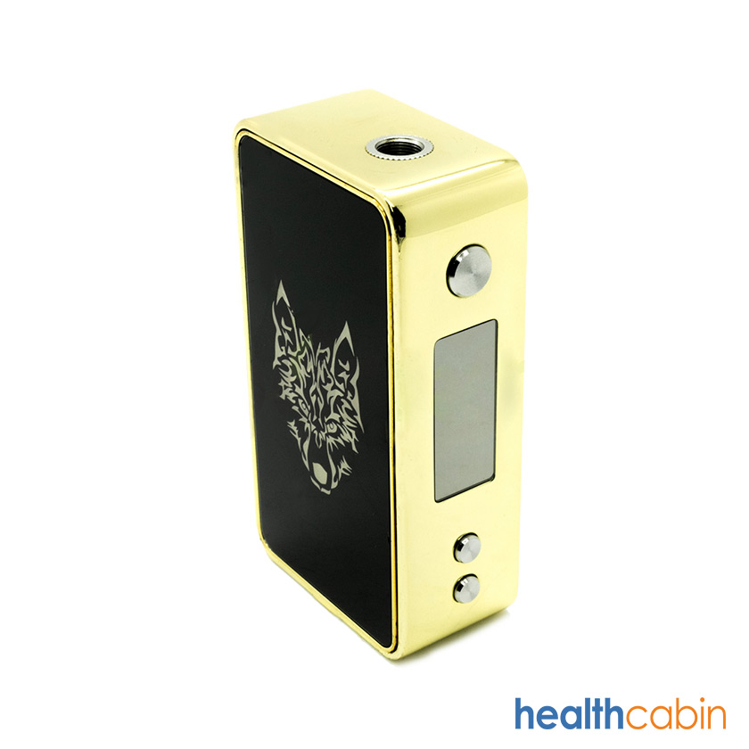 [Pre Order] Sigelei Snowwolf TC 90W Gold Box Mod with Black OLED