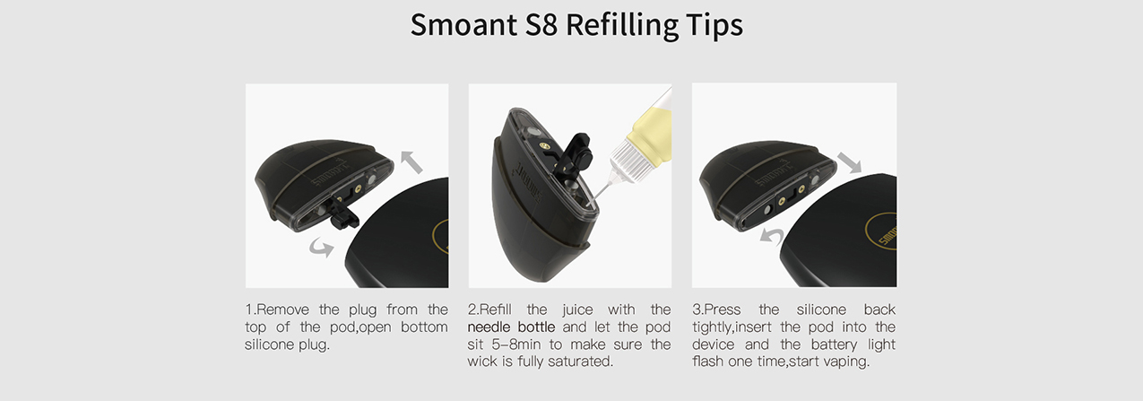 Smoant S8 Pod Cartridge