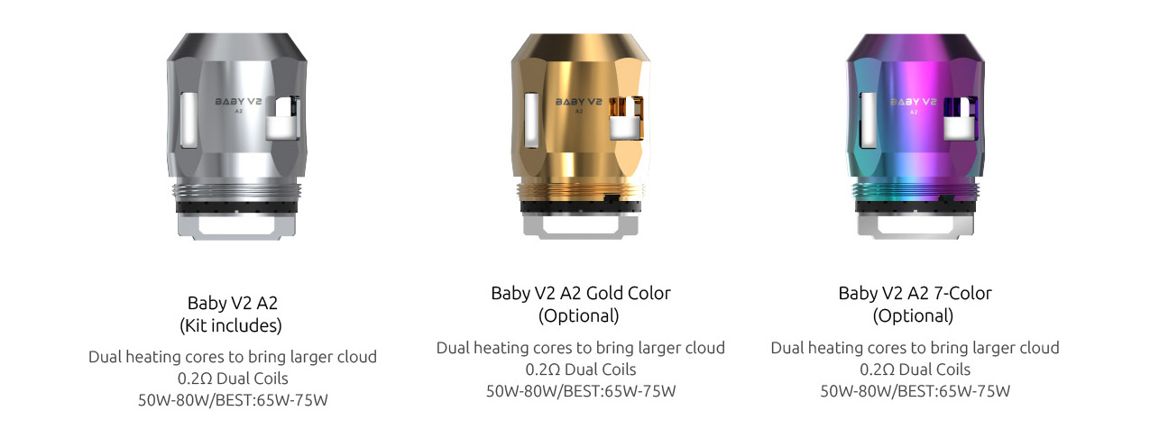 Baby V2 A2 Coil