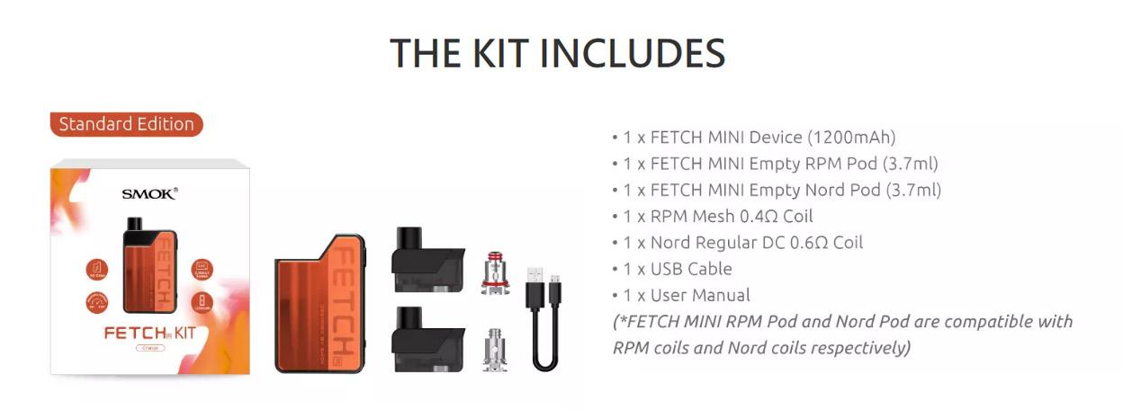 Smok Fetch Pod Kit