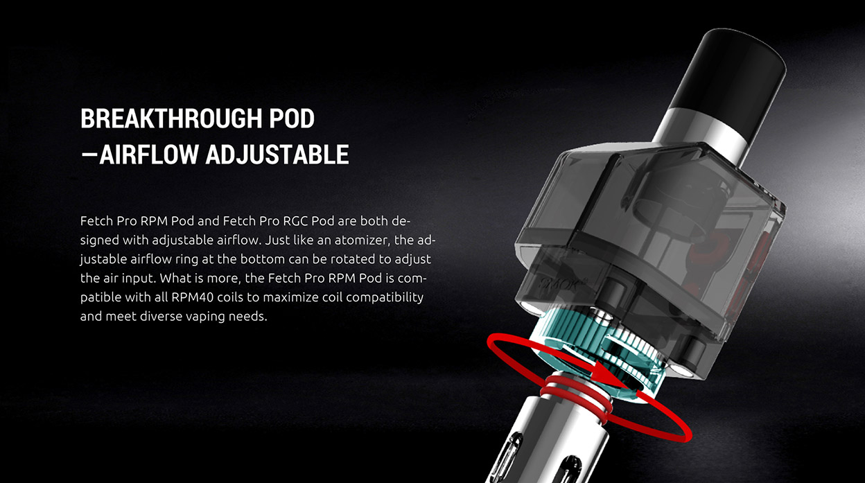 Smok Fetch Pro Pod Cartridge