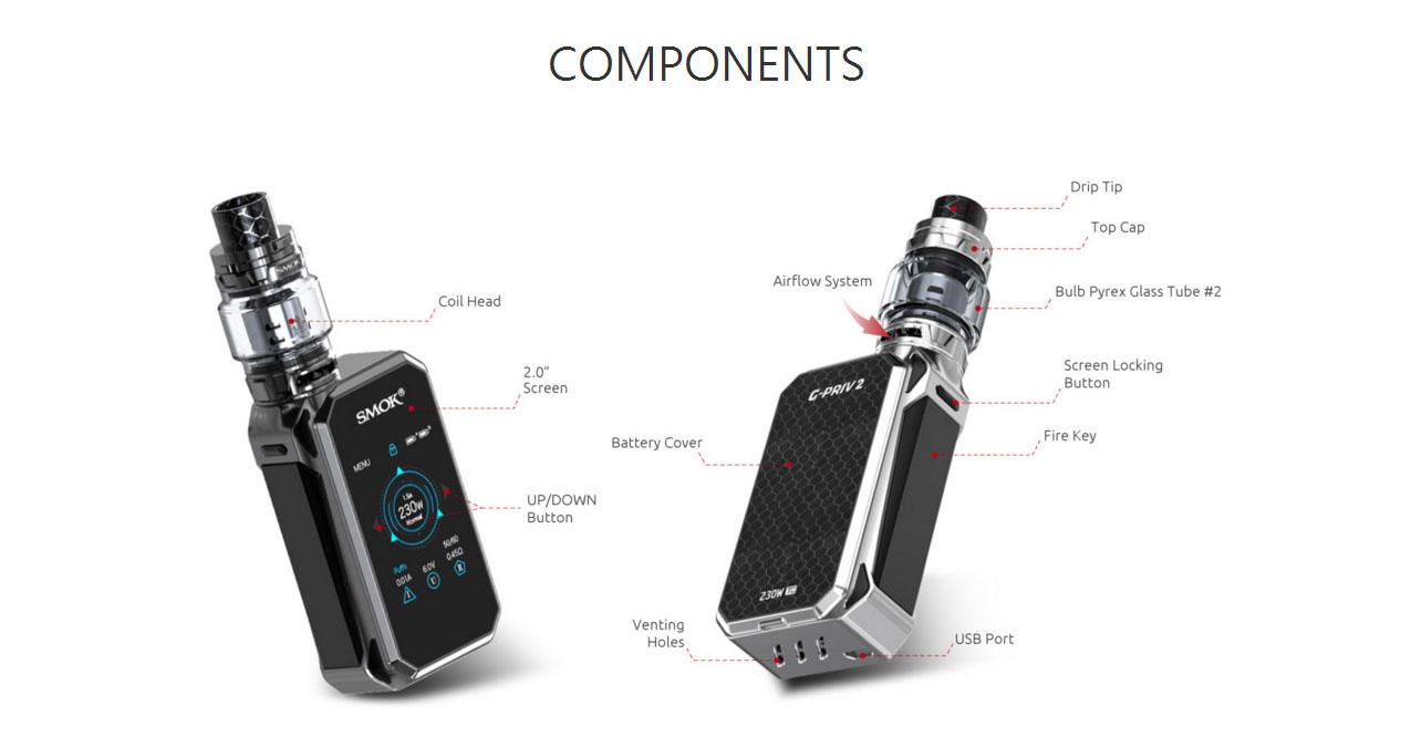 SMOK G-priv II Luxe 230W Mod Kit
