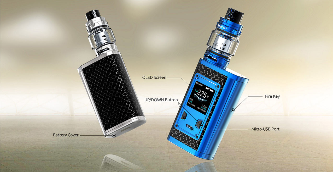 SMOK Majesty 225W Mod Kit Luxe