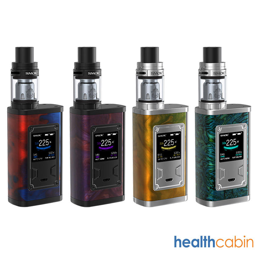 Smok Majesty 225W Mod Kit with TFV8 X-Baby Tank Resin Standard Edition