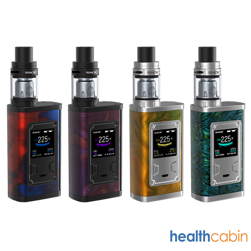 Smok Majesty 225W Mod Kit with TFV8 X-Baby Tank Resin TPD Edition
