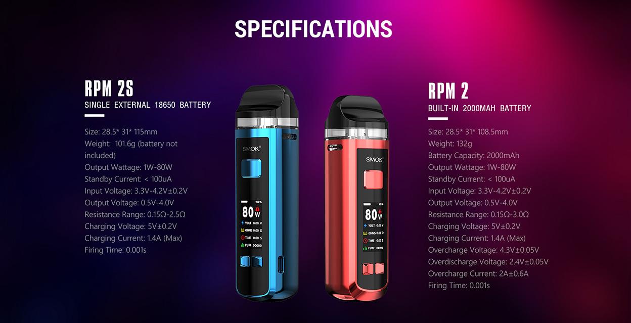 Smok RPM 2S Kit