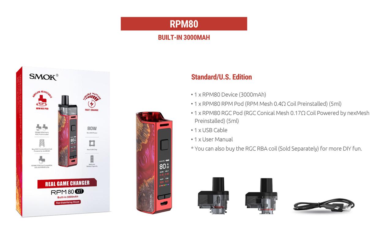 Smok RPM80 series