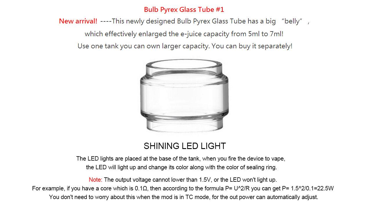 SMOK TFV8 Big Baby Light Edition • 24 5mm 5ml