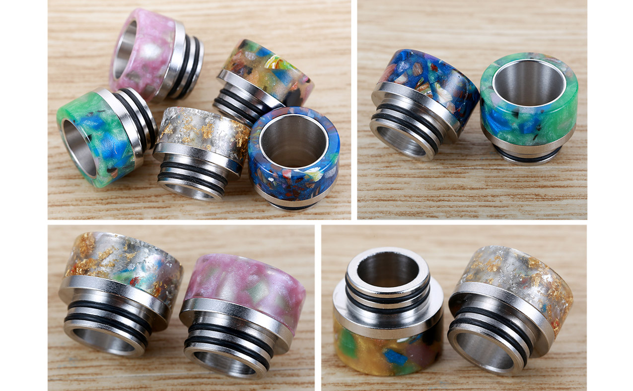 Resin Stainless Drip Tip