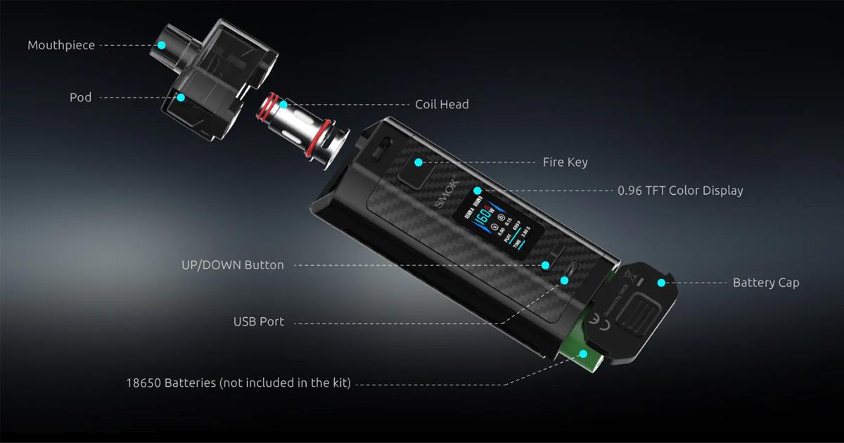 Smok RPM160 Pod Mod Kit