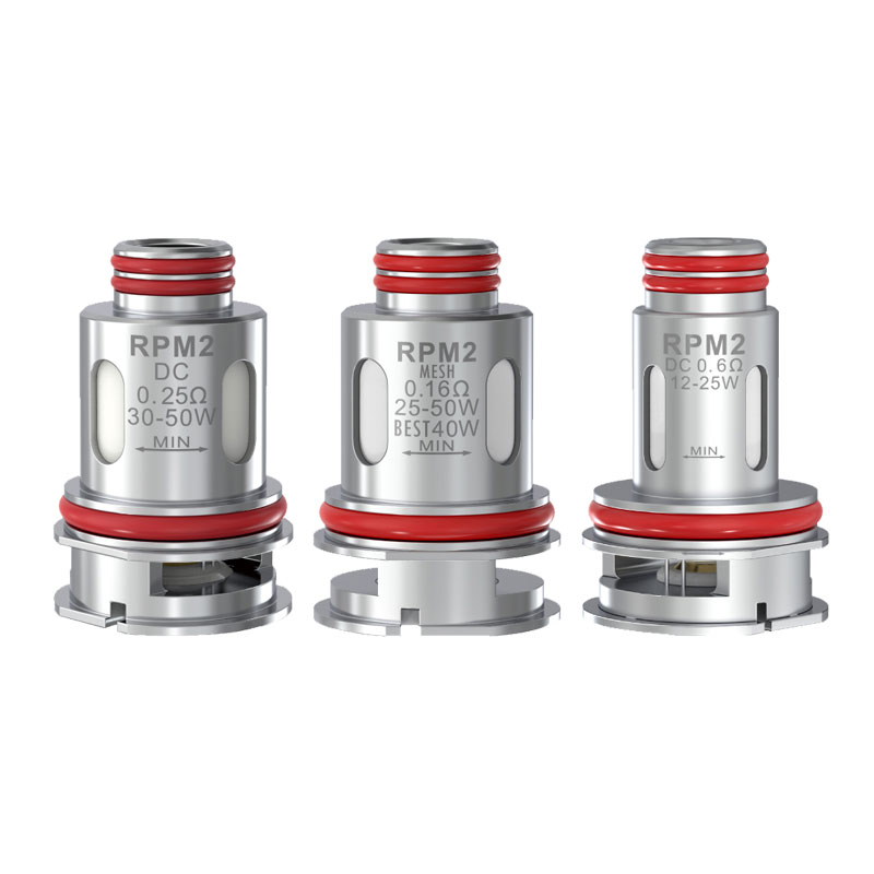 Smok RPM2 Coil for Scar-P5 Kit,Scar-P3 Kit,RPM 2 Kit (5pcs/pack)