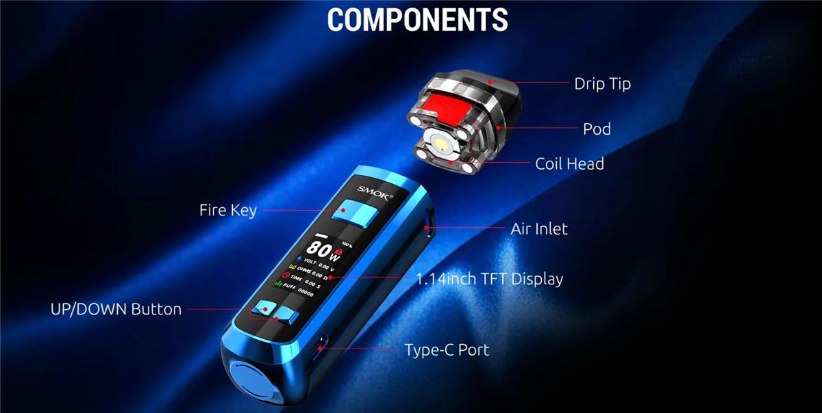 Smok RPM 2 80W Pod Mod Kit