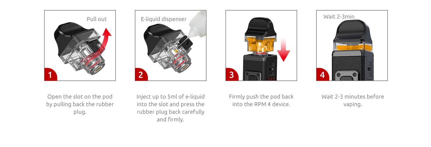 Smok RPM 4 Pod Mod