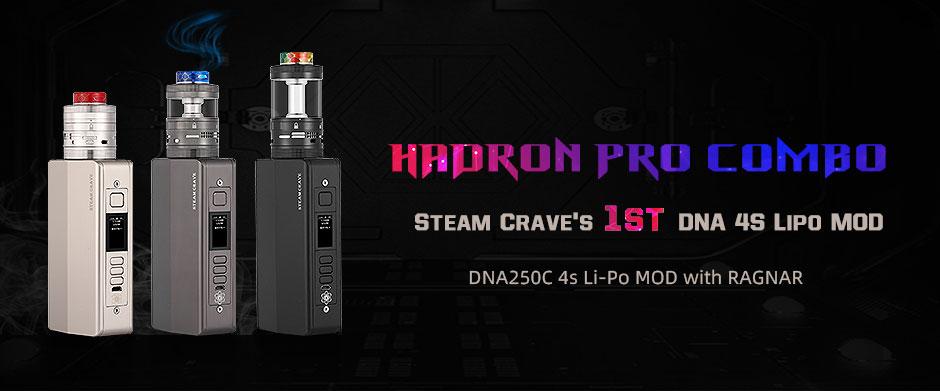Steam Crave Hadron Pro Kit